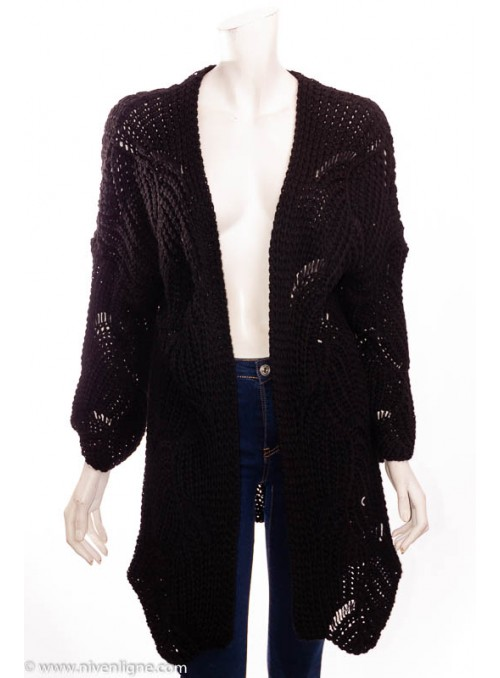 Gilet TRACY grosse maille *044