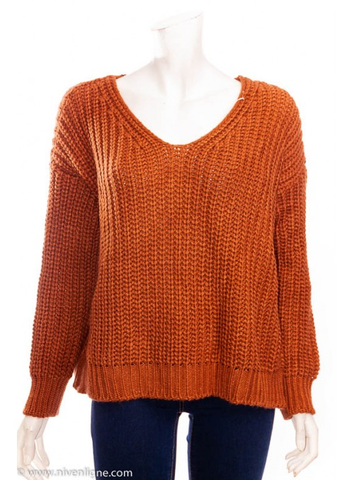 Pull ALEXEY grosse maille *968