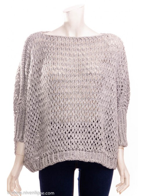 Pull ANGELA grosse maille *965