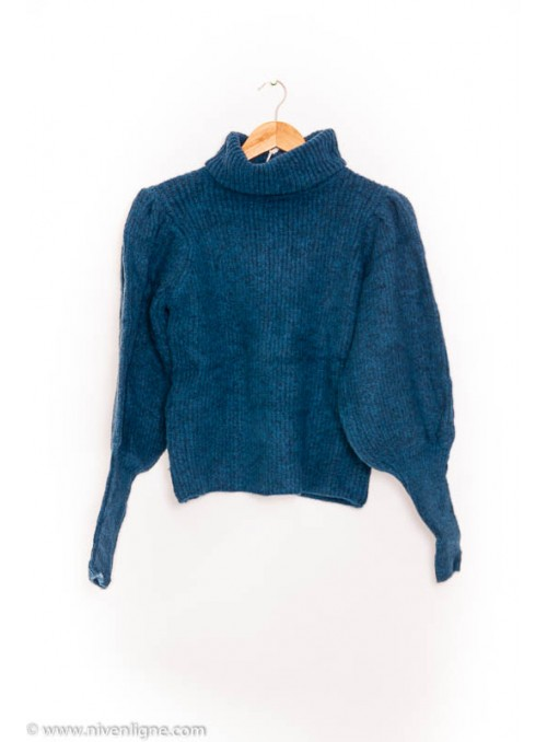 Pull CLEO col roulé *4888