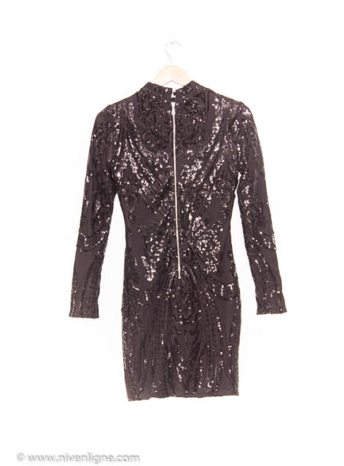 Robe ISIDOR paillette *4068