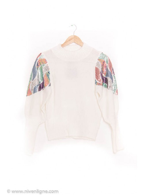 Pull CAMILLE sequin *178