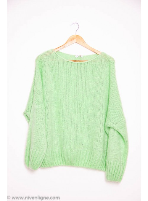 Pull ABELIA grosse maille...