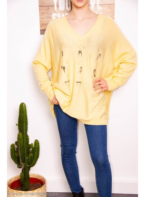 Pull CHAT oversize *732