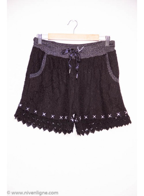 Short MURRAY dentelle *60189