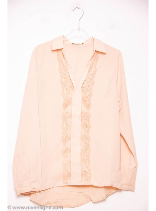 Chemise OSTEN broderie large