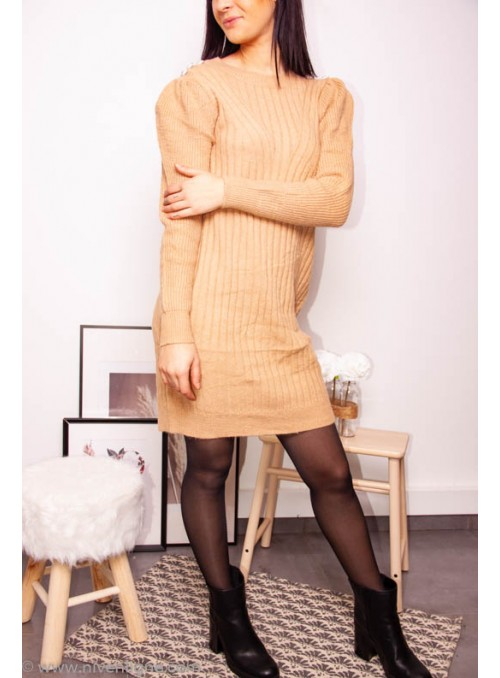 Robe AZELIE pull maille...