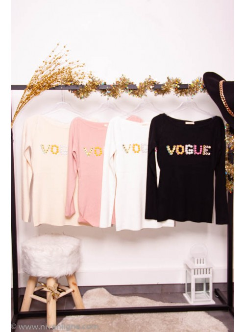 Pull VOGUE couleurs