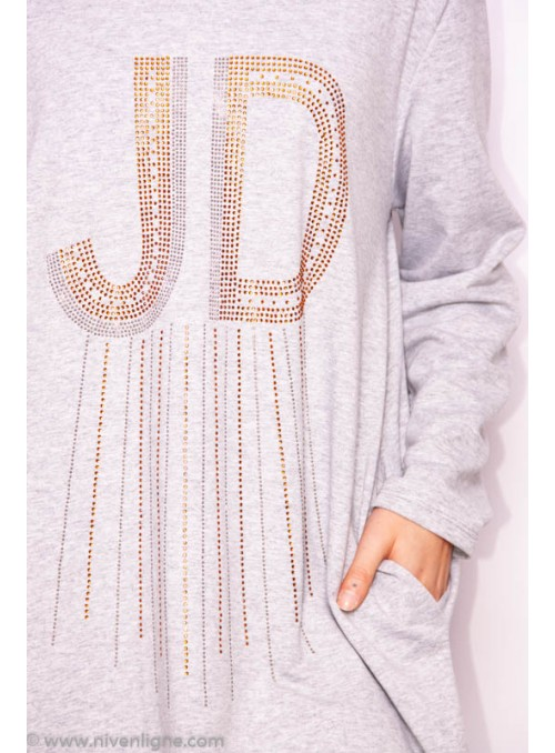 Robe JAVA pull strass